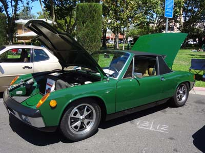Porsche 914 Irish Green