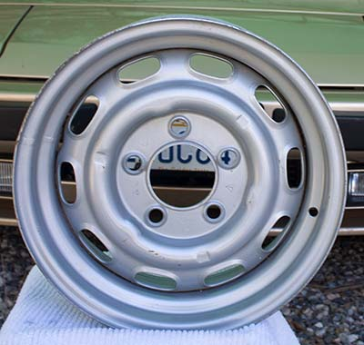 Steel wheel for Porsche