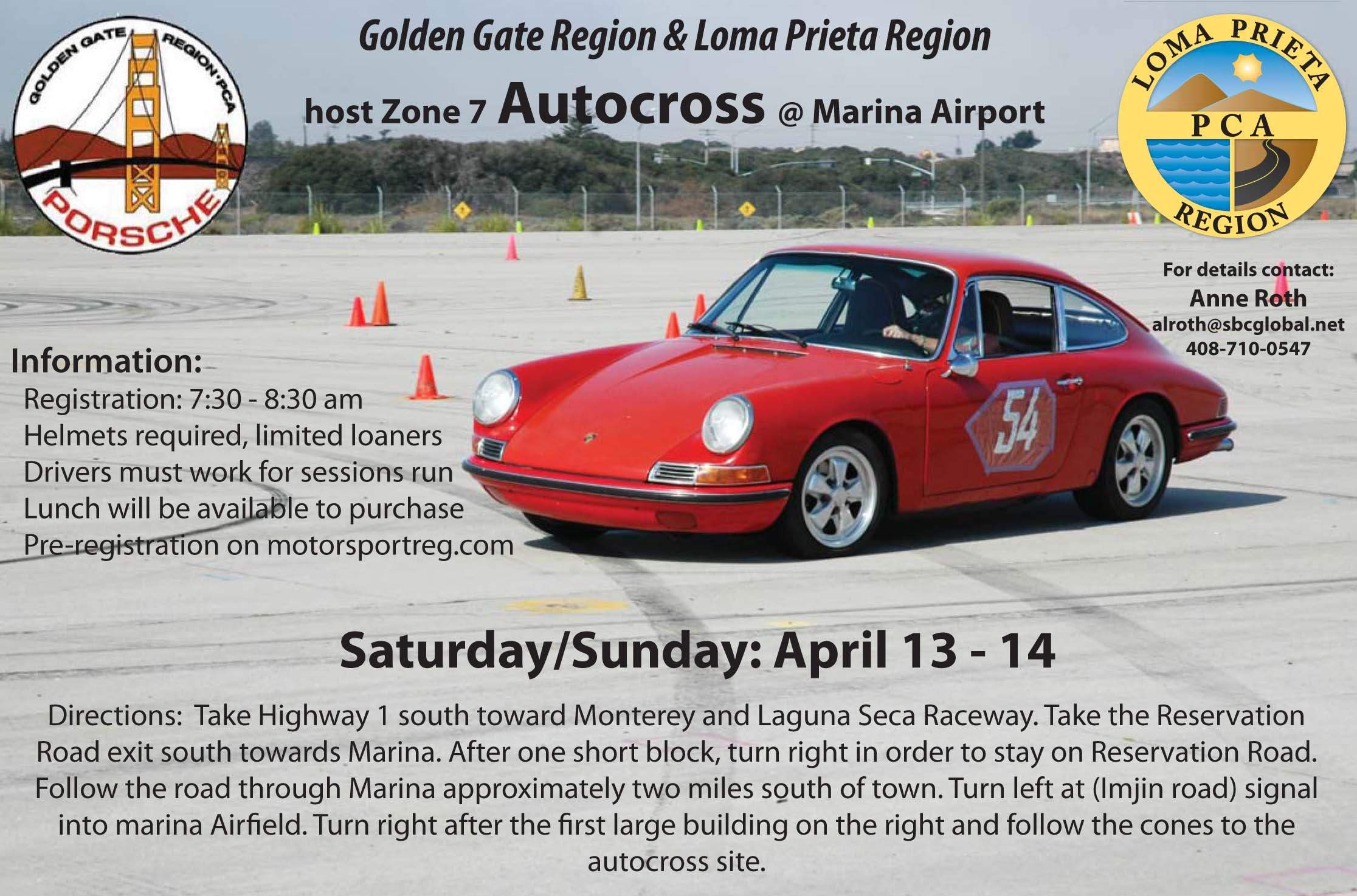 April Zone 7 Autocross