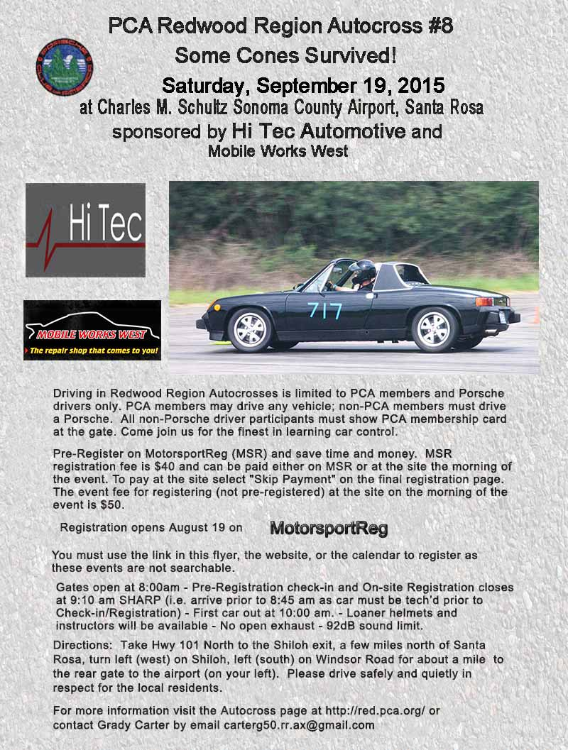 Porsche 914 at autocross