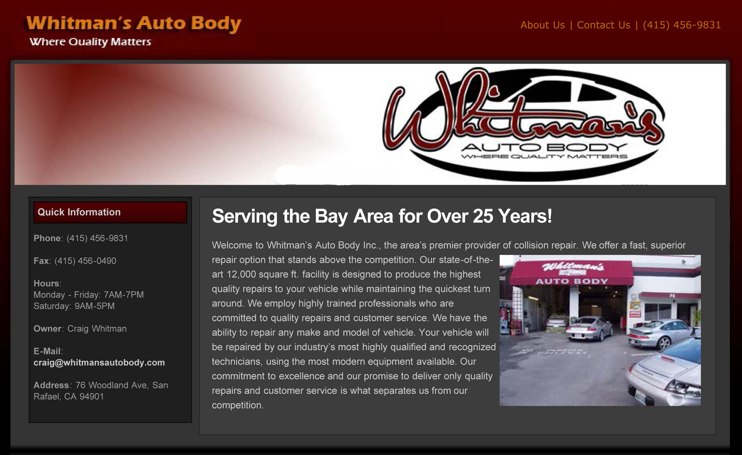 Whitman's Auto Body